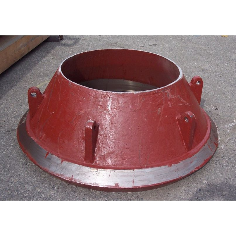Cone Crusher Concave Bowl Liner  Unicast Wear Parts