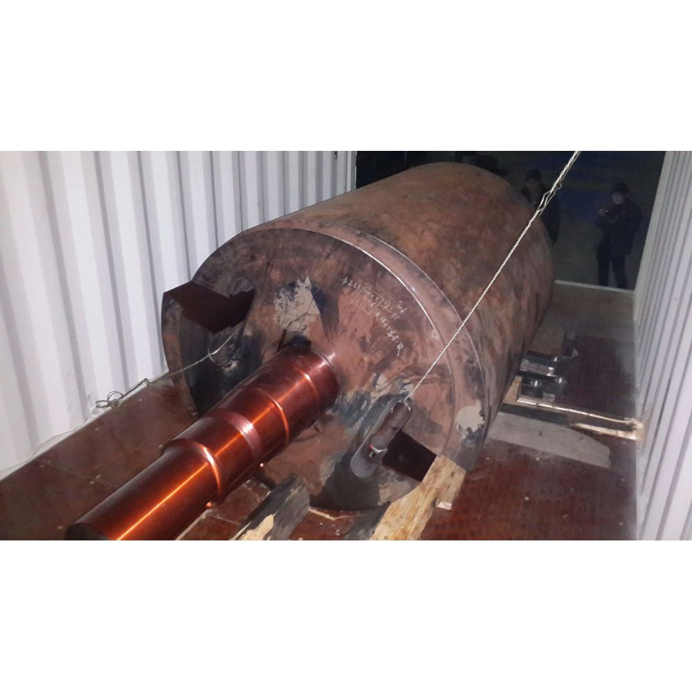 Horizontal Shaft Impactor Rotor  Unicast Wear Parts