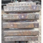 Worn Blow Bars from Horizontal Shaft Impactor  Unicast Wear Parts