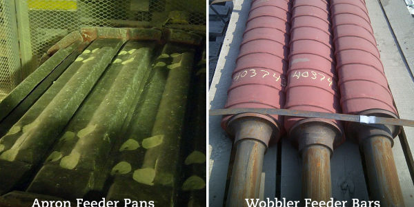 Tough and long-lasting mining wear parts for feeders, like apron feeder pans and wobble feeder bars, are necessary to prevent downtime that costs operations money. Feeder Shutdown a Thing of the Past with Better Wear Parts Unicast Wear Parts